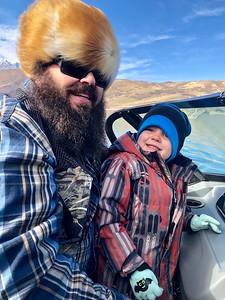 2018-11-10 Fishing with Aanders & Logan - Deer Creek