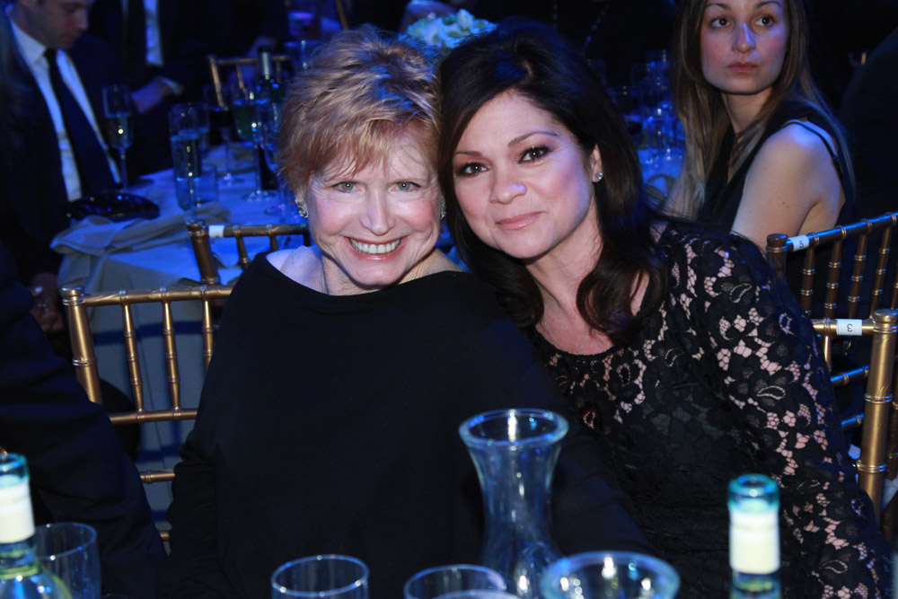 . NEW YORK, NY - APRIL 14: Bonnie Franklin and Valerie Bertinelli attende the TV Land Awards 10th Anniversary show at the Lexington Avenue Armory on April 14, 2012 in New York City. The 2012 TV Land Awards airs on TV Land Sunday, April 29 at 9PM/8C. (Photo by Leon/PictureGroup) via AP IMAGES