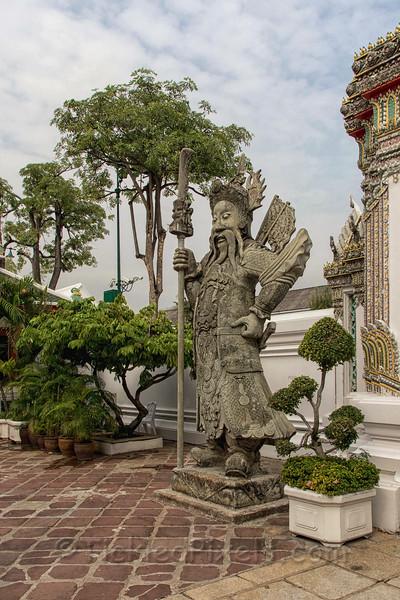 Chinese Guardian at Wat Pho