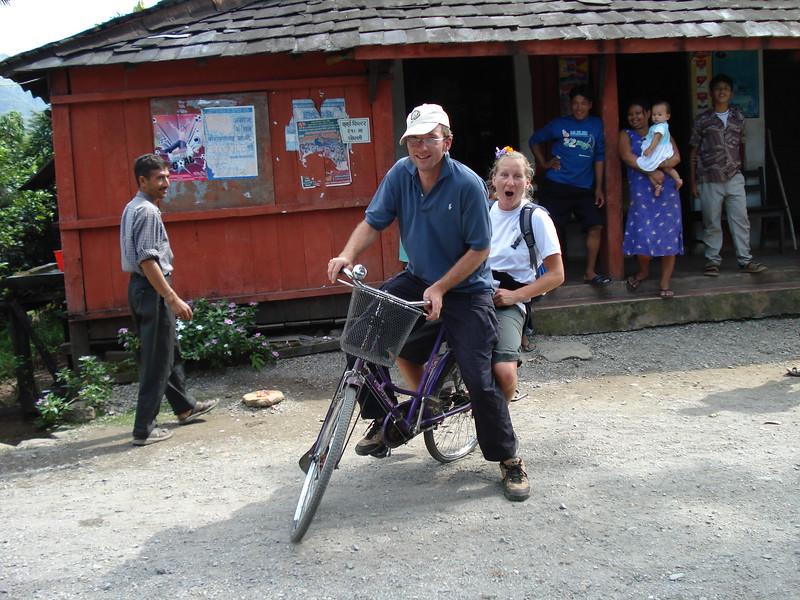 Old-school bikes