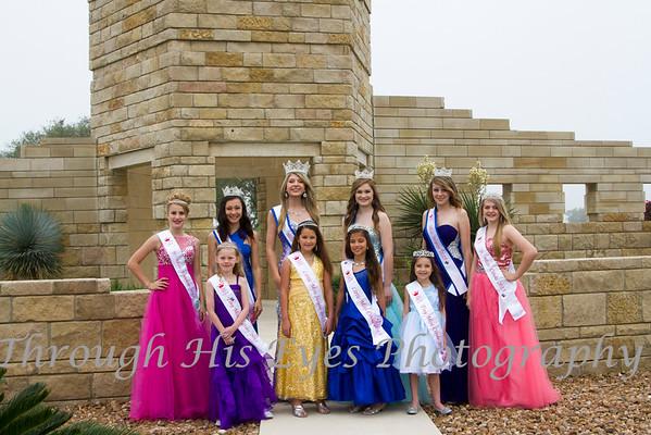 Miss Cibolo Court 2015