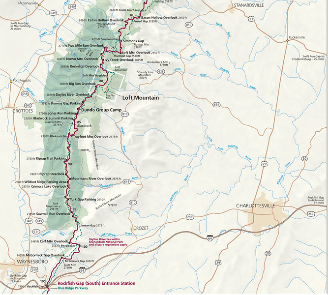 Shenandoah National Park (South Section)