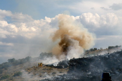 Highlands Ranch Wildland Fires 7-4-2008