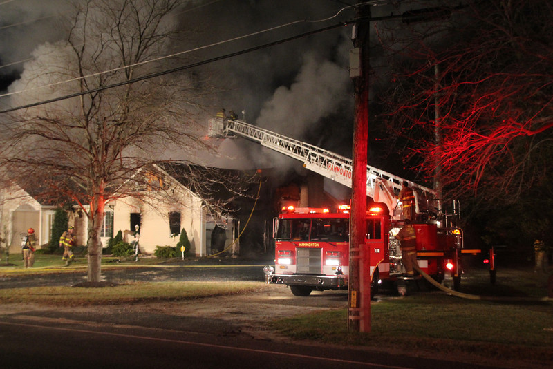 11-30-12 (Atlantic County) HAMMONTON, 406 Pleasant Mills Rd- 3rd Alarm Dwelling