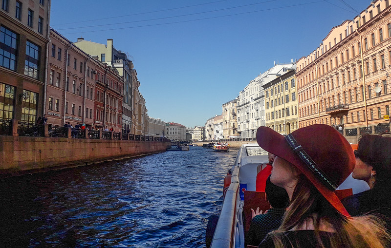St. Petersburg river trip.