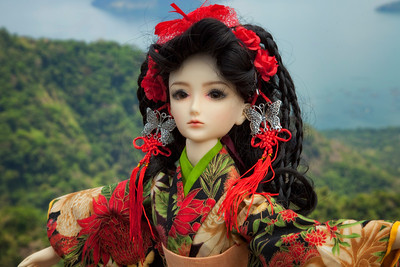 Two S Doll from China