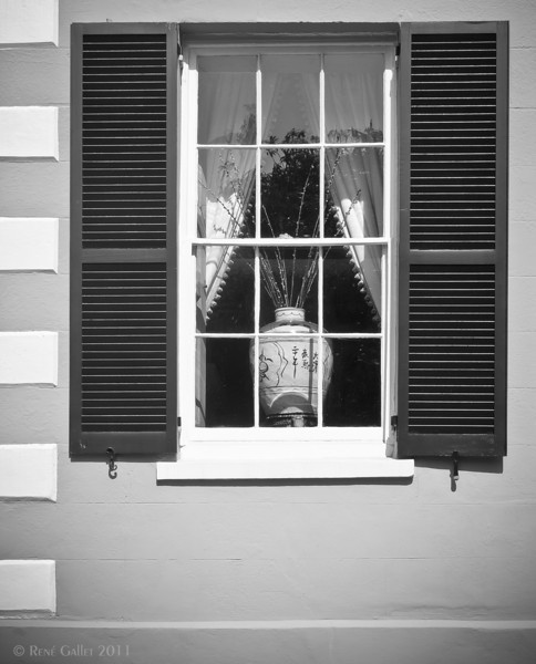 "' China Vase '  Charleston, SC  12""x16"" on 13""x19""  Premium Luster Photo Paper  Edition of 25"