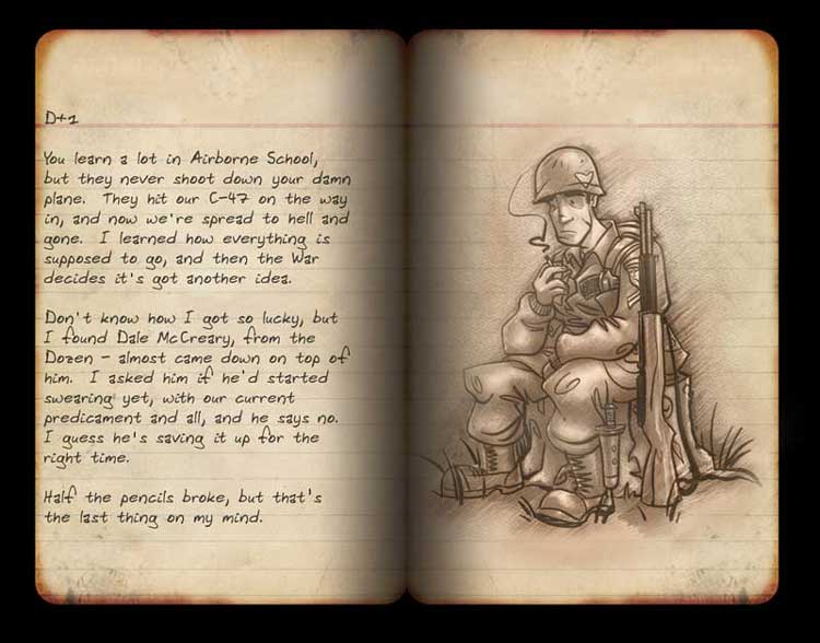 Brothers in Arms Journal Page 2