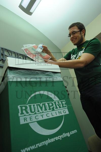 7870 Student Dan Baker for Recyclemania 2-8-12