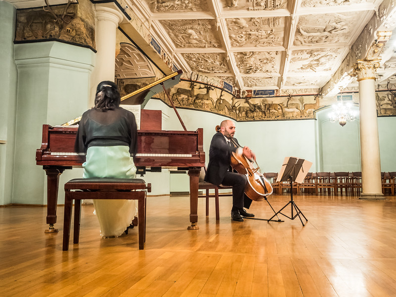 Chamber Concert at the Güstrower Schloss, Germany
