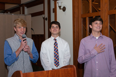 MRMS 8th grade banquet