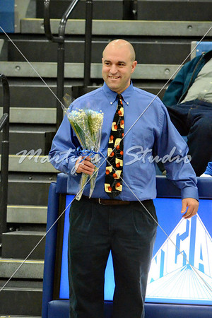 Northwestern vs Chippewa Senior Nite 2.1.2013
