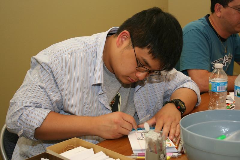 Novice Joseph Vu