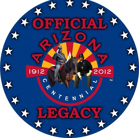 """Official Arizona Centennial Legacy """"Buffalo Soldiers of the Arizona Territory - Ladies and Gentlemen of the Regiment"""", Headquarters Mesa, Arizona's Copyrighted, Tradename and Logo, Year: 2007 to present"""