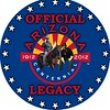 "Official Arizona Centennial Legacy ""Buffalo Soldiers of the Arizona Territory - Ladies and Gentlemen of the Regiment"", Headquarters Mesa, Arizona's Copyrighted, Tradename and Logo, Year: 2007 to present"
