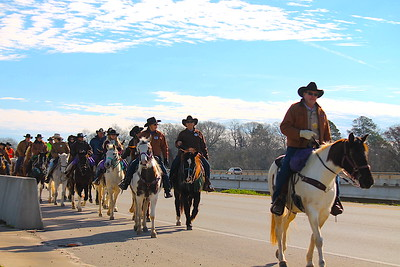The 65th Annual Old Spanish Trail Ride; Logansport to Houston