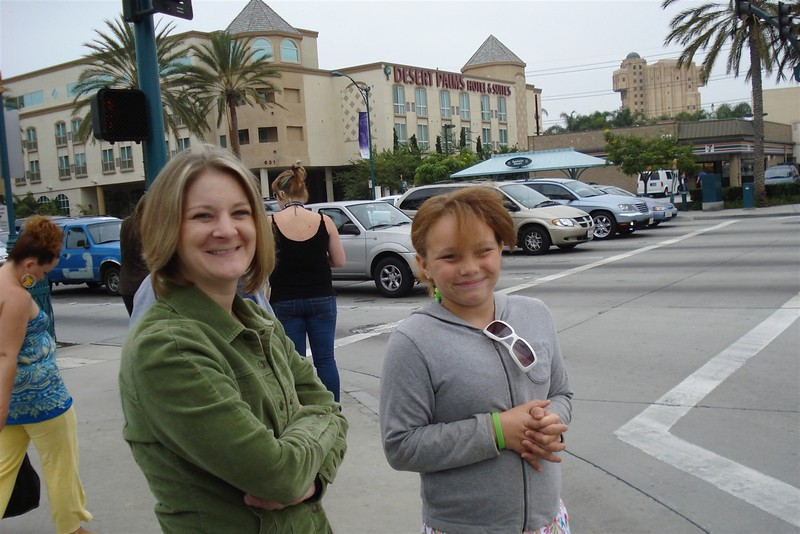 Heather and Bree and hotel in background.jpg