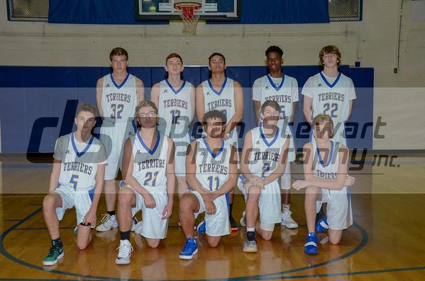 JV boys Basketball 12.13.18