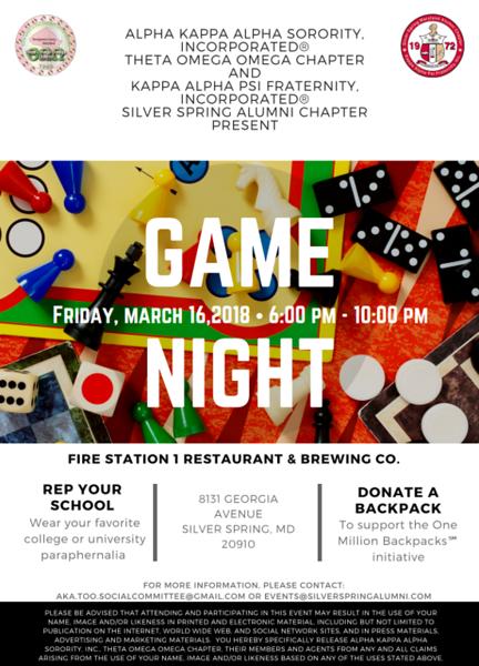 2018-03-16 Game Night