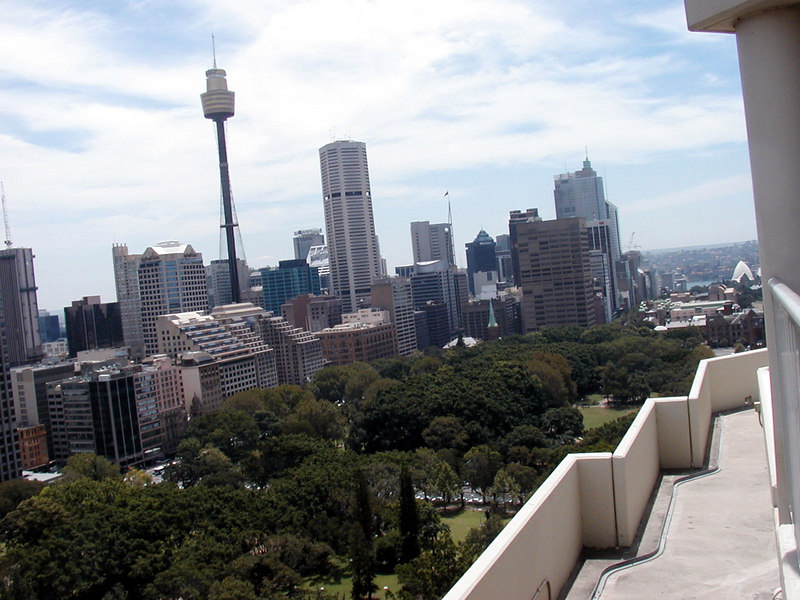 View from Top of Sydney Marriott