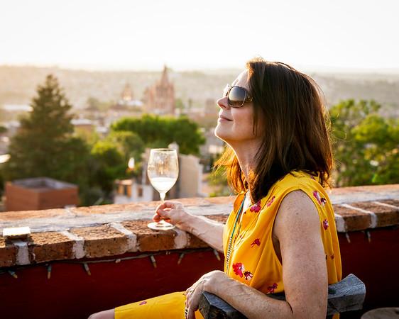 Susan in San Miguel de Allende