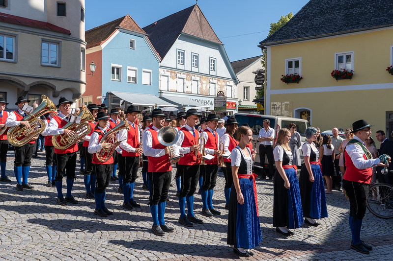 Band in Grein, Austria