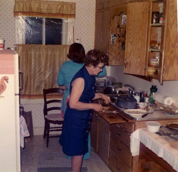 Dinner at Grandma Herdrich's