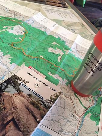 Appalachian Trail VA Section Hike, June 2015