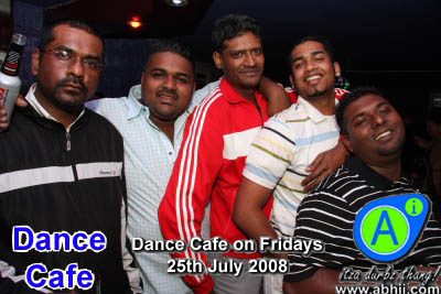 Dance Cafe - 25th July 2008