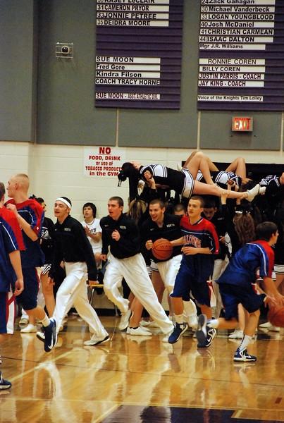 North Henderson and West Henderson Varsity Basketball 2013