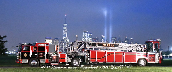 9/11 Remembrance Photo Shoot at Liberty State Park  in Jersey City, NJ