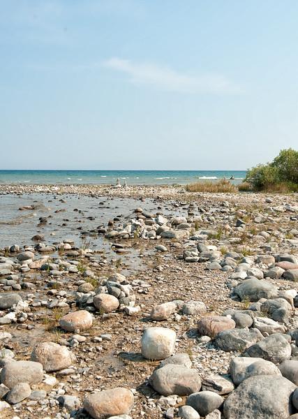 047 Michigan August 2013 - Grand Traverse Lighthouse Shore.jpg