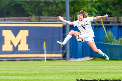 8-19-18 - Best of Michigan Women's Soccer Vs Western Michigan