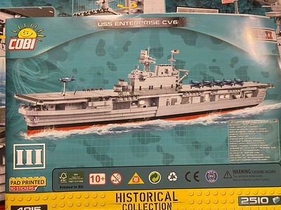 CV-6 USS Enterprise