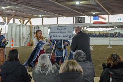 Lt Maureen Wesinger-Lewis Training Center Dedication - 02.12.2019