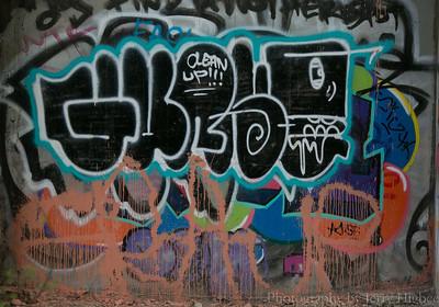 High Bridge Park Graffiti