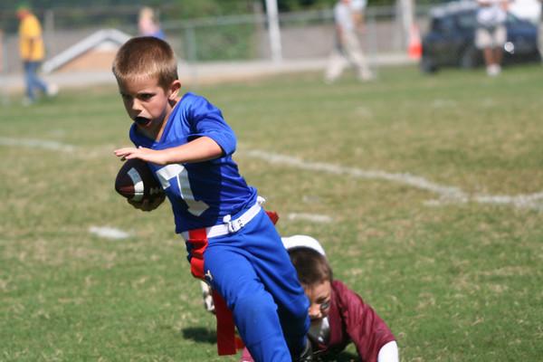 Pee Wee Football & Cheerleaders 2006