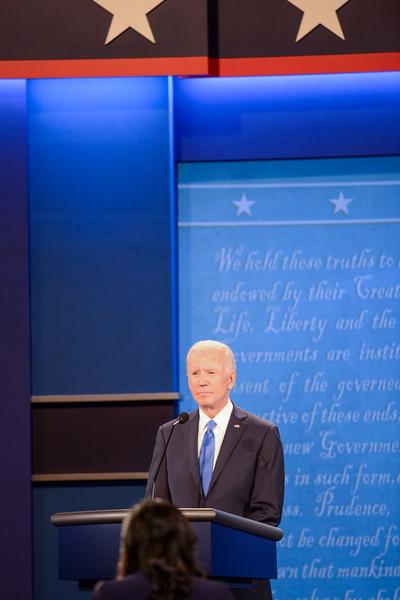 Debate 2020 with Trump and Biden