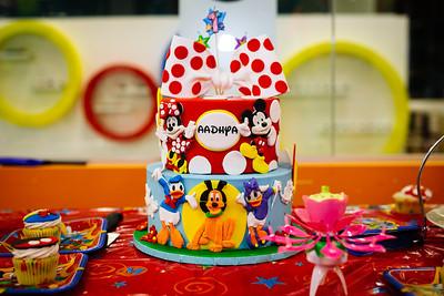 Aadhya 1st Birthday