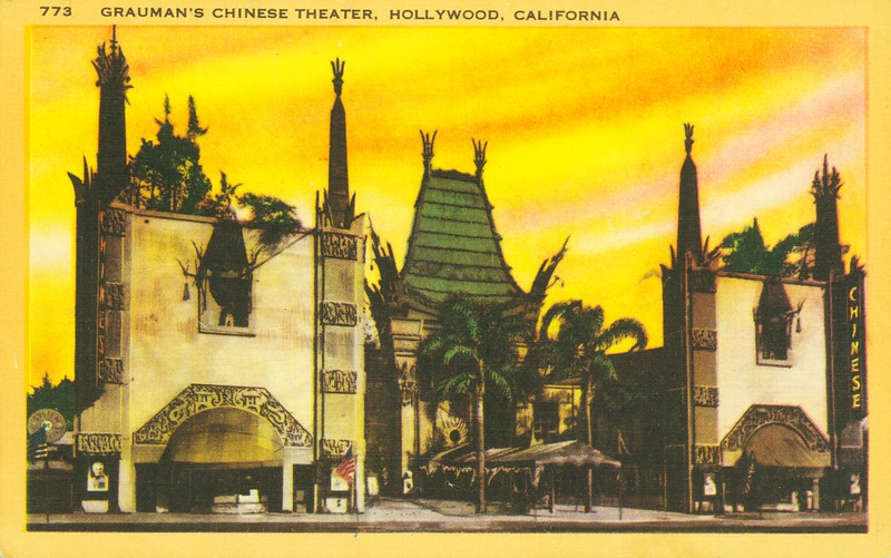 Chinese Theatre during Sunset