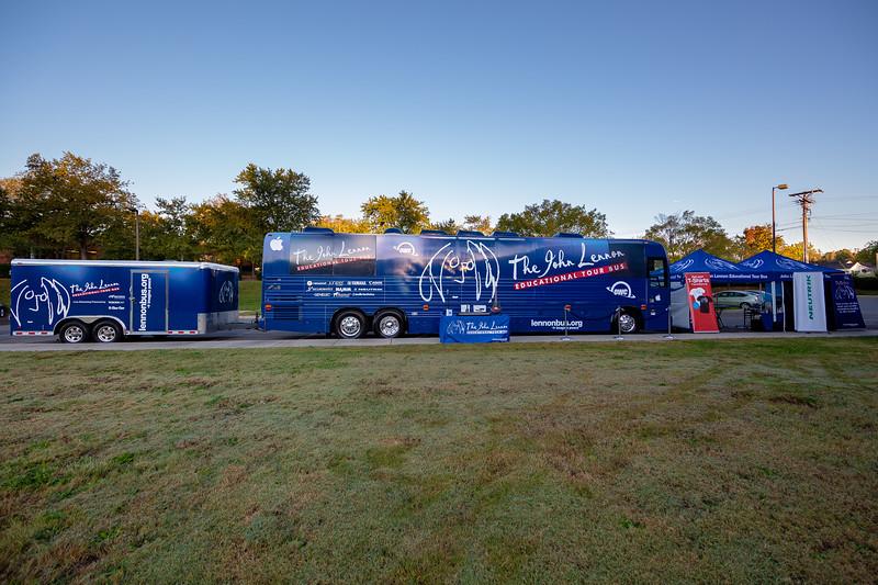 2018_10_24, Bus, Charlotte, Establishing, Exterior, NC, Neutrik