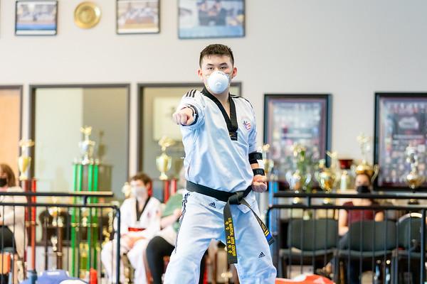 USMAC Summer 2021 Black Belt Testing 2nd & 3rd Degrees