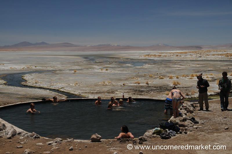 Kollpa Laguna Dip - Salar Tour, Bolivia