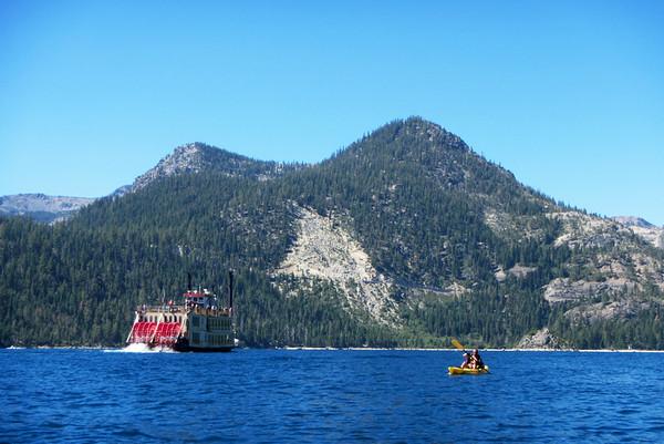 Emerald Bay Kayak/Camp: Aug 15-17, 2014