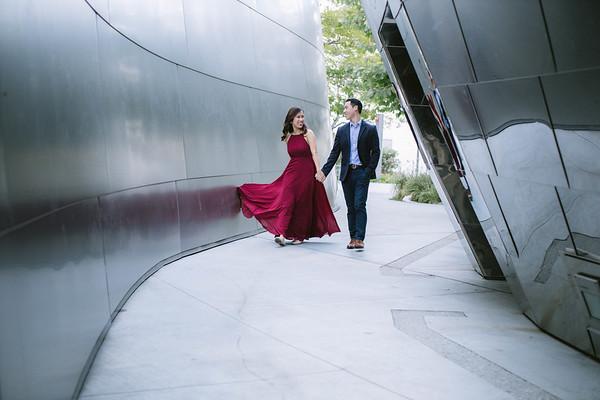 Katherine & Brandon | Downtown L.A. Engagement