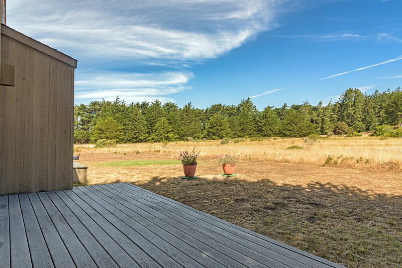 Back Deck with Meadow Views