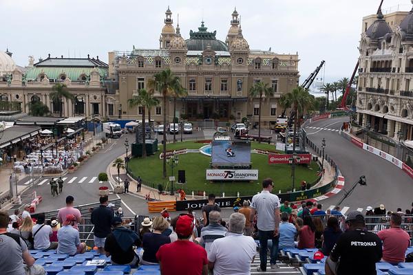 2017 Gran Prix of Monaco Free Practice One