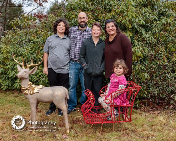 Thanksgiving Sleigh-Reindeer