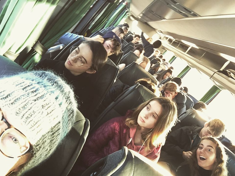 Bus to Versailles—do you think the traffic was this bad for Louis and Marie?