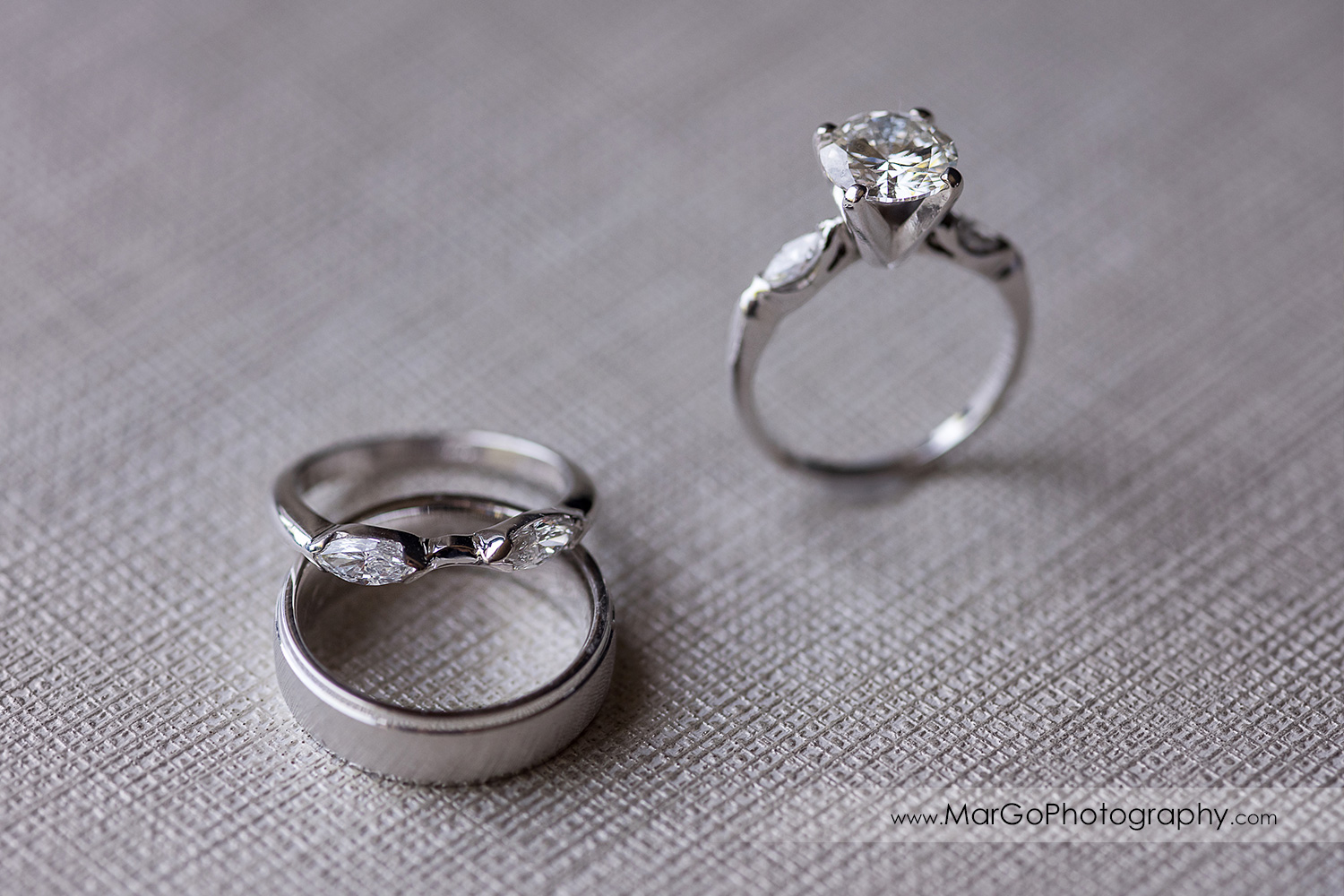 wedding rings at Pleasanton Marriott